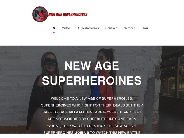 Access New Age Superheroines Free