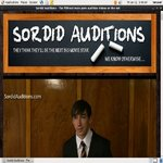 Sordidauditions.com Acount