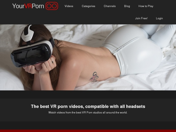 Yourvrporn Mobile Account