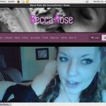 Accounts Free Becca Rose