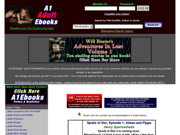 A1adultebooks.com With No Credit Card