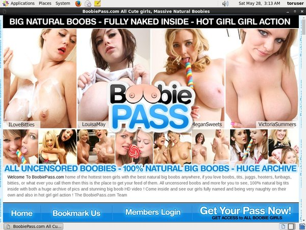 Boobie Pass Free Account Passwords