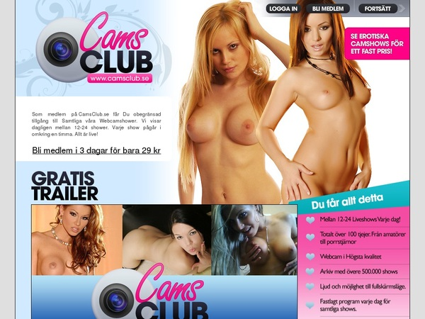 Camsclub With Online Check