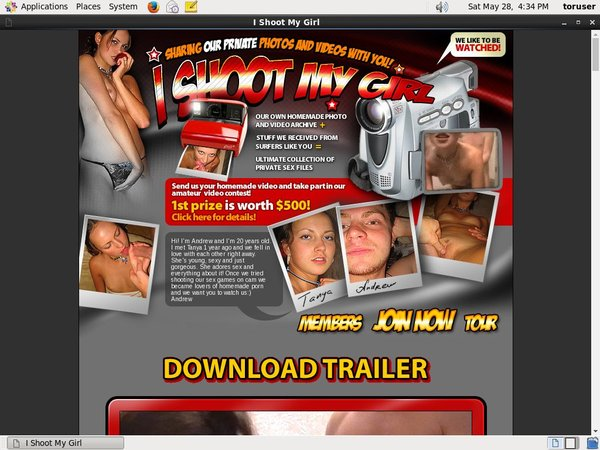 Ishootmygirl.com Password